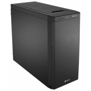 Сase Foxconn ATX Mid Tower, w/o PSU, 2xUSB, Silver/Black 8cm. Fan