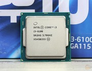 Процессор INTEL® CORE™ i3-6100 (3 МБ кэш-памяти, 3,70 ГГц)