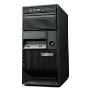 Lenovo ThinkServer TS140 E3-1225v3/ 1x4Gb/ NHS-SATA 2x500Gb (2/4 LFF max)/ no ODD/ RAID 0,1,10,5 / 1 x 1GB integrated/ 1(1)x280W/ no OS/ 1/1 on site