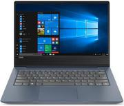 "Ноутбук LENOVO IdeaPad 330S-14IKB, 14"", IPS, Intel Core i5 8250U 1.6ГГц, 8Гб, 256Гб SSD, Intel UHD Graphics 620, Windows 10, 81F400L2RU, темно-синий"
