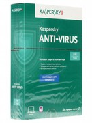 ПО Kaspersky Anti-Virus 2016 Russian Edition. 2-Desktop 1 year Renewal Card (KL1167ROBFR)