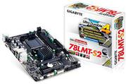 Материнская плата Gigabyte GA-78LMT-S2 RTL (V1.2) AM3+, AMD760g, DDR3-1333(O.C), 8ch Audio, PCI-E, SATAII, LAN, USB, DVI-D, D-Sub, ATX