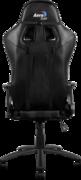 Кресло для геймера Aerocool AC120-B , черное, до 150 кг, размер, см (ШхГхВ) : 70х55х124/132