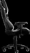 Кресло для геймера Aerocool AC120-BW , черно-белое, до 150 кг, размер, см (ШхГхВ) : 70х55х124/132