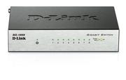 DGS-1008D Неуправляемый коммутатор с 8 портами 10/100/1000Base-T и функцией энергосбережения