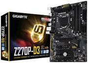 Материнская плата Gigabyte GA-Z270P-D3, Socket 1151, Intel®Z270, 4xDDR4-2133, HDMI, 3xPCI-ex16, 3xPCI-Ex1, 6xSATA3(RAID 0/1/5/10), 1xM.2, 8 Ch Audio, GLan, (2+4)xUSB2.0, (4+4)xUSB3.1, 2xPS/2, ATX, RTL