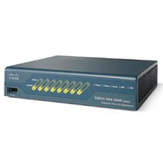 Межсетевой экран Cisco - ASA 5505, WAN/LAN/DMZ-8 x 10/100 Мб/с RJ-45, IPSec VPN-10, new sessions/second-4000, concurrent sessions-10000, USB-3, CLI, PoE, ASA5505-K8