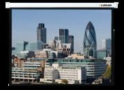 "[LMC-100108] Экран с электроприводом Master Control 153x203 см (97"") Matte White FiberGlass"