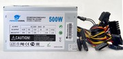 Блок питания ATX 500W PowerCool 120mm (SCP)(OVP)(OCP)+8+4 20+4 pin, ATX 12V v.2.3 OEM
