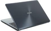 "Ноутбук Asus VivoBook X542UF-DM042T Core i3 7100U/4Gb/500Gb/nVidia GeForce Mx130 2Gb/15.6""/FHD (1920x1080)/Windows 10/dk.grey/WiFi/BT/Cam"