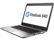 "Ноутбук HP EliteBook 840 G3 [T9X55EA] 14""(1920x1080 (матовый)/ i5 6200U/8192Mb/256SSDGb/Cam/BT/WiFi/45WHr/war3y/silver/black metal/W7Pro+ W10Pro key+USB-C"