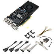 Видеокарта PNY Quadro K4200 4GB RTL [VCQK4200-PB] PCIE 2xDP DVI-I DVI-D 3D